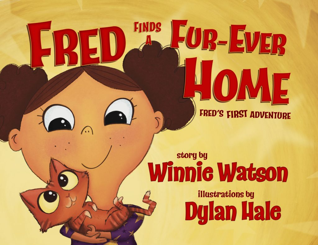 Book Cover: Fred Finds a Fur-Ever Home
